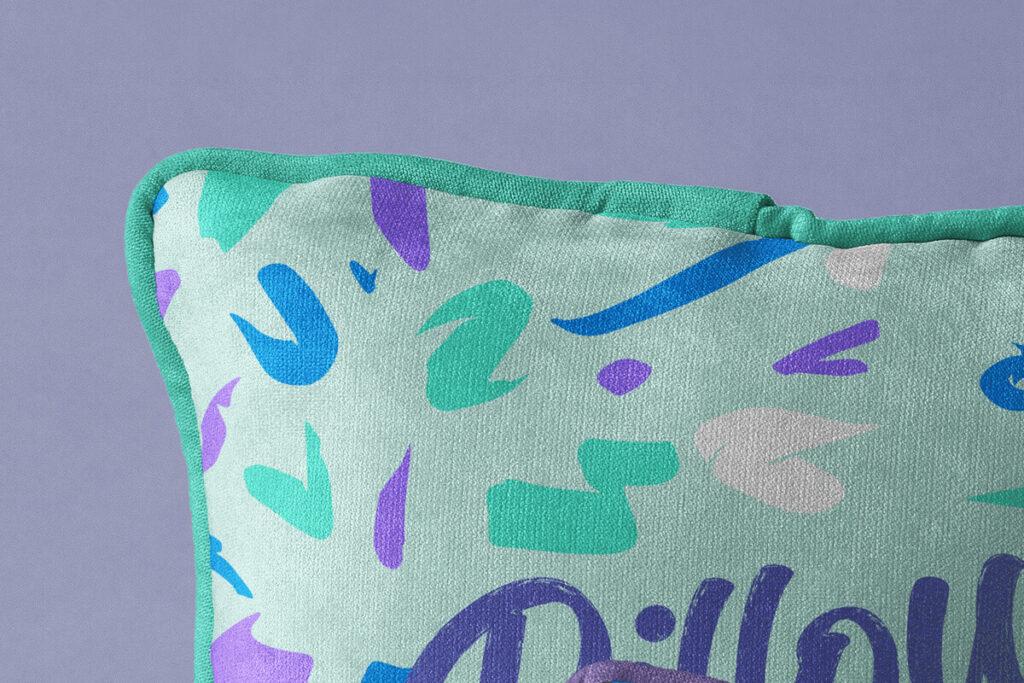 Free Throw Pillow Mockup Set PSD Template1