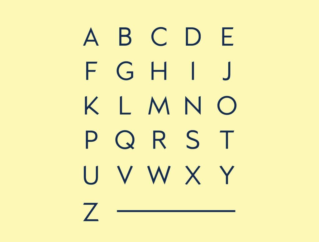 Free Typographic Kano Font1