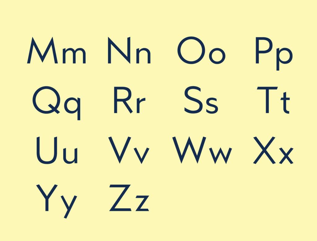 Free Typographic Kano Font5