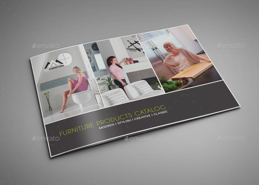Furniture Products Catalog Brochure - 16 Pages