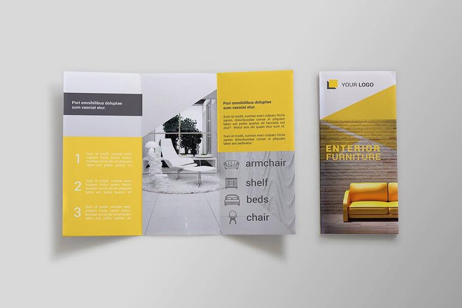 Furniture Tri-fold Brochure - SK