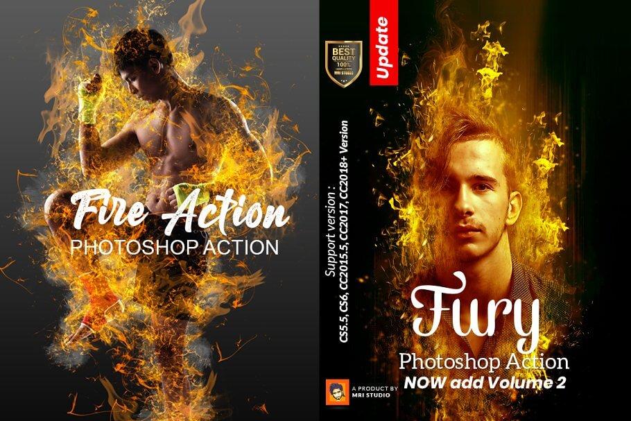 Fury Photoshop Action (2)