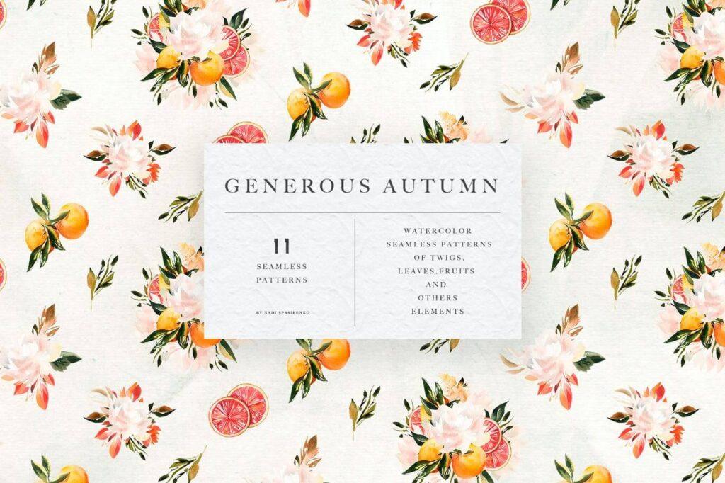 Generous Autumn Patterns