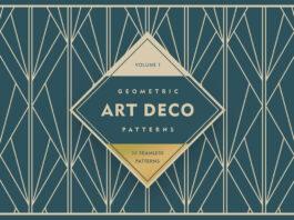 Geometric Art Deco Patterns