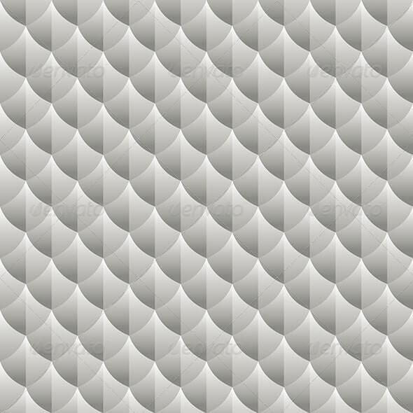 Geometric Metallic Pattern Background