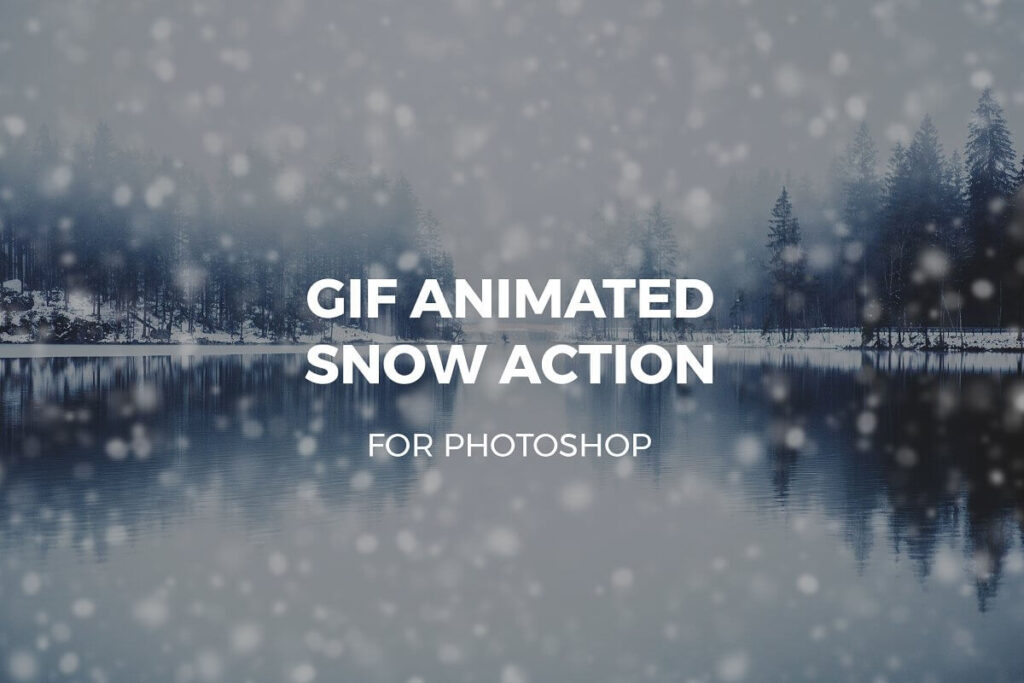 Gif Animated Snow Action
