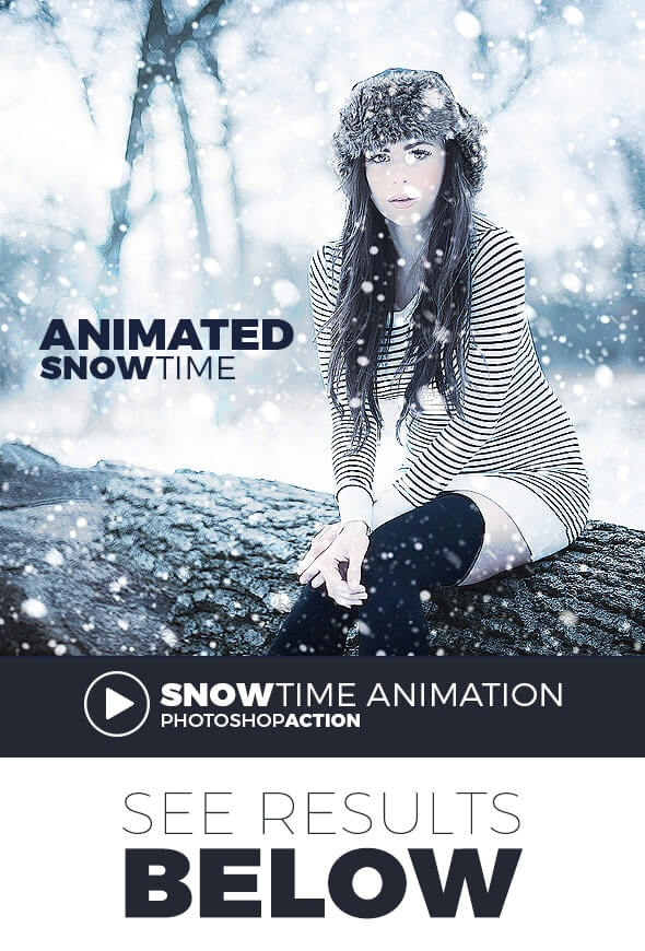 Gif Animated Snow Action1