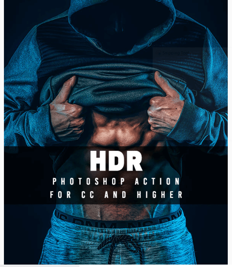 HDR Effect - Photoshop Action