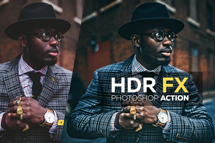 HDR FX - Photoshop Action