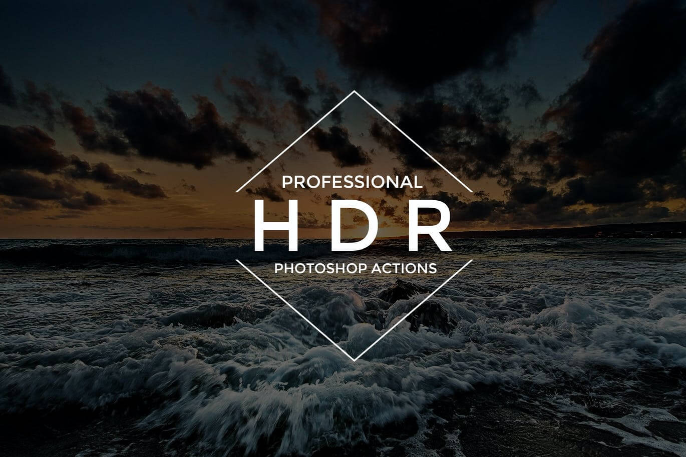 HDR Photoshop Actions1