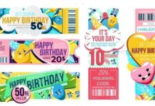 Happy Birthday Gift Voucher with Discount Offer (1)