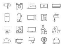 Home-Appliances-Vector-Icons