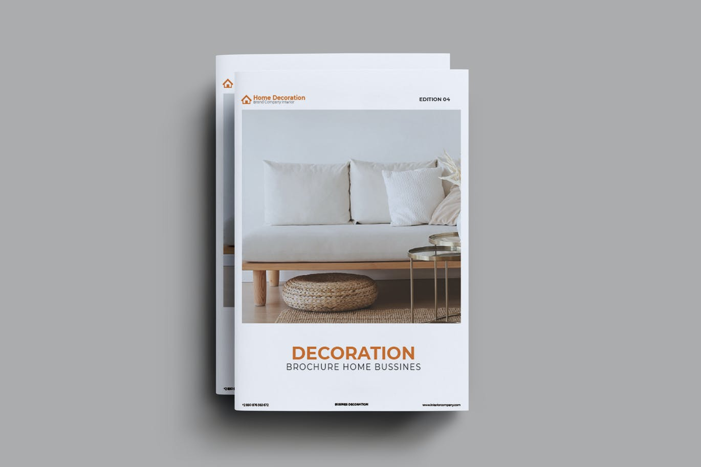 Home Decoration Brochure