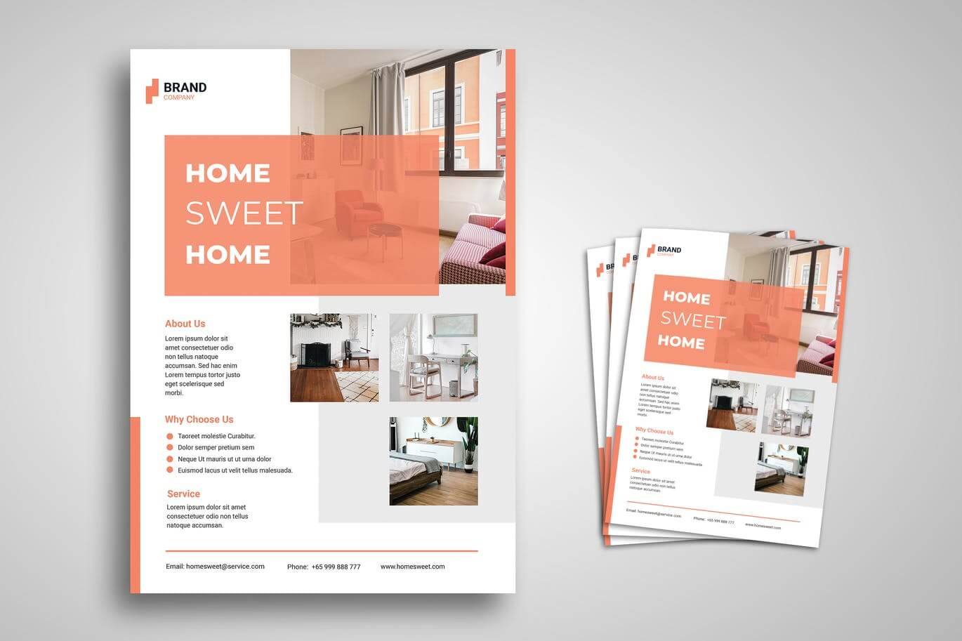 Home Furniture Flyer Promo Template