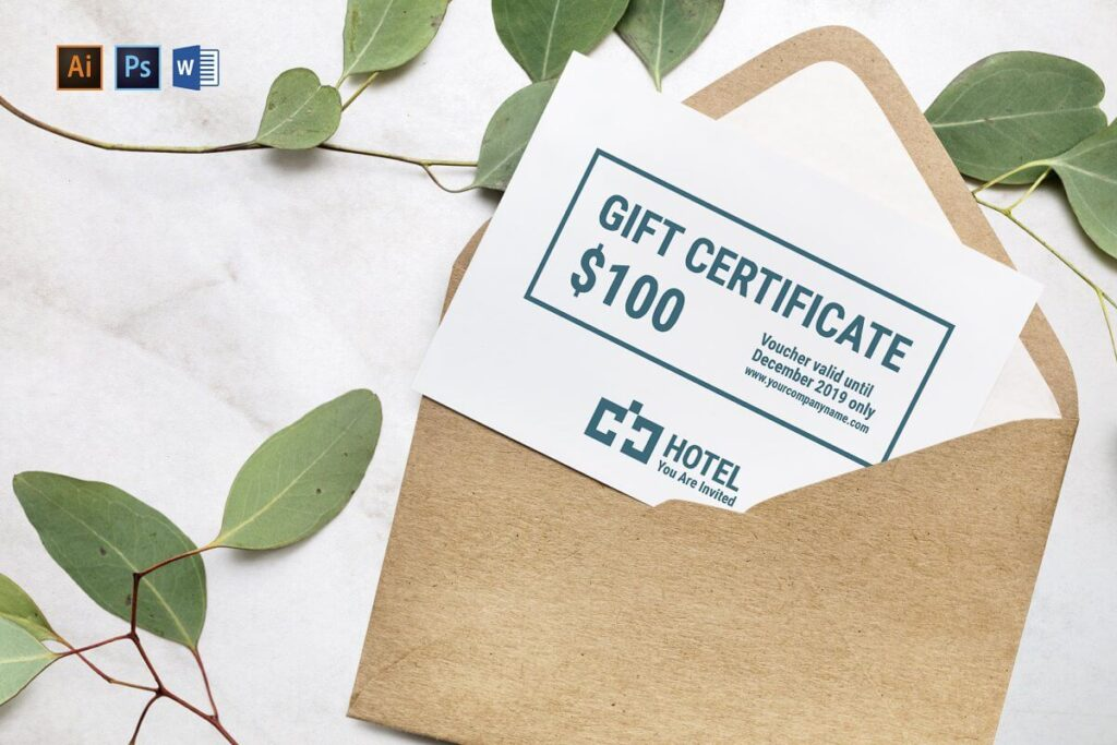 Hotel Gift Certificate