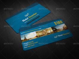 Hotel Gift Voucher Card Vol 7 (2)