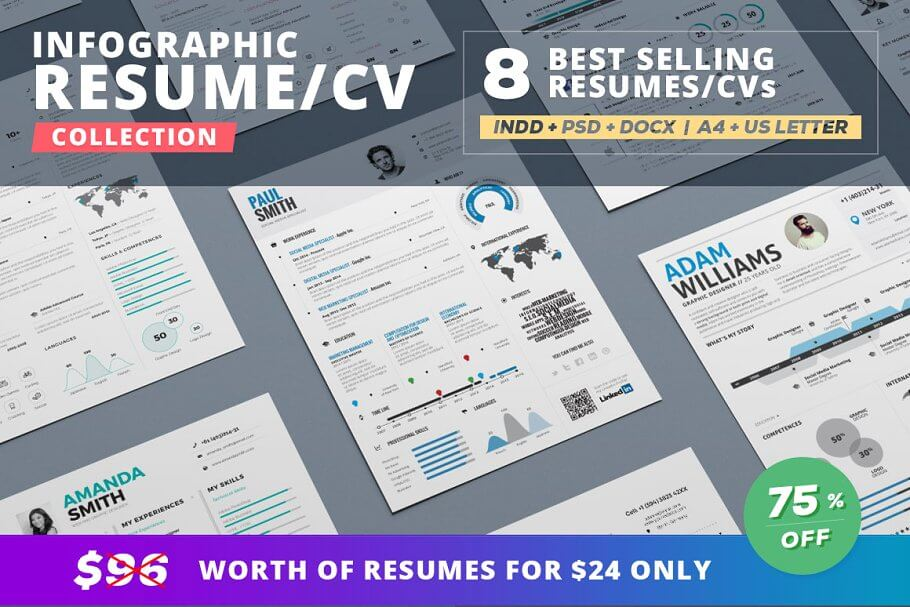 Infographic Resume Bundle (1)