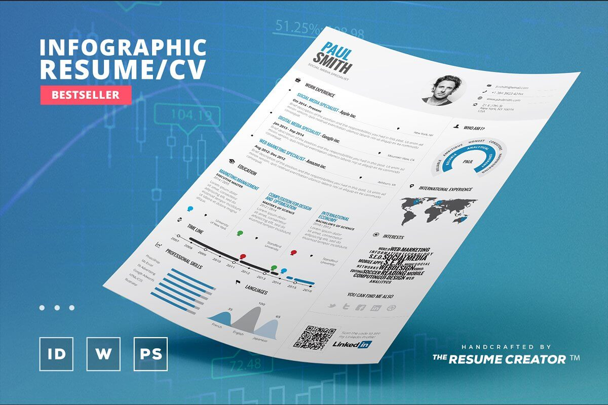 Infographic Resume Vol. 2 (1)
