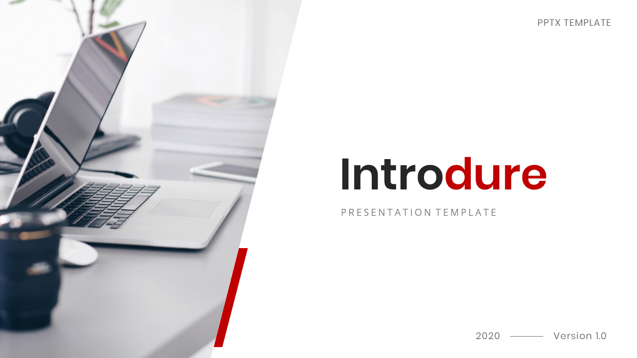 Introdure - Company Profile PowerPoint Presentation Template