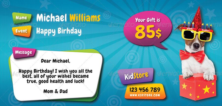 Kids Birthday Gift Voucher V05 (1)