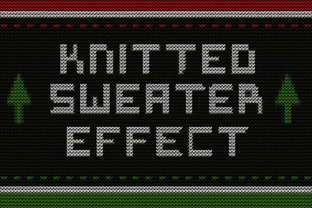 Knitted Sweater Mockup