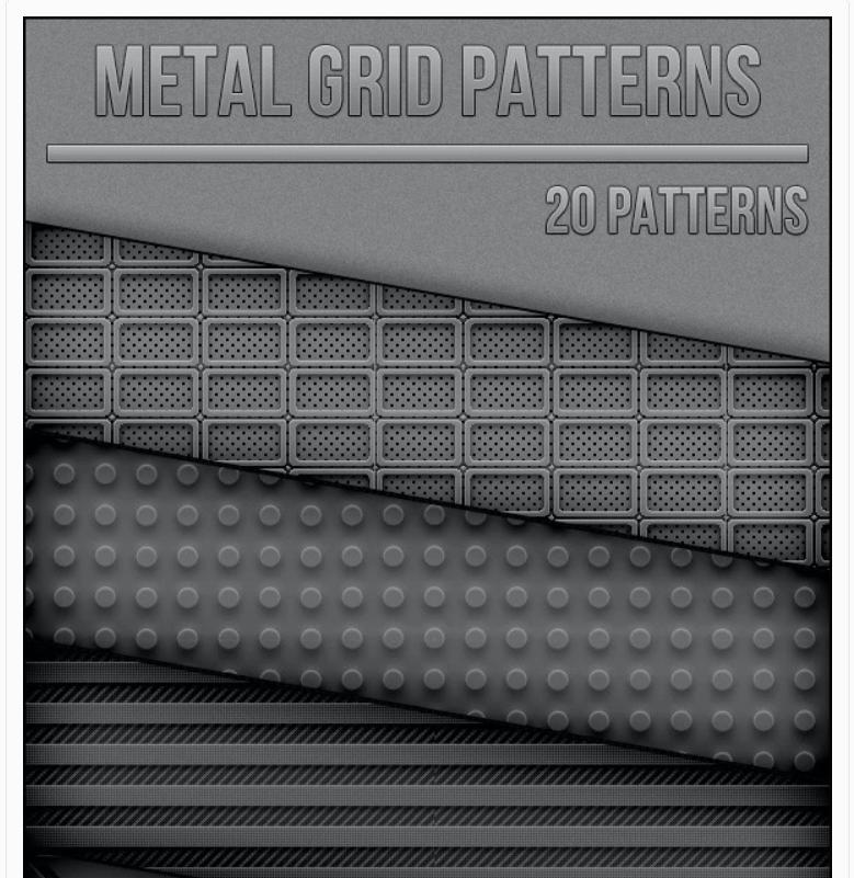 Metal Grid Patterns