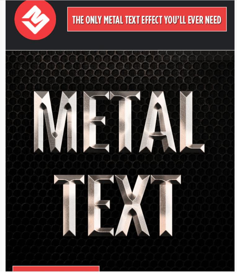 Metal Text Effect