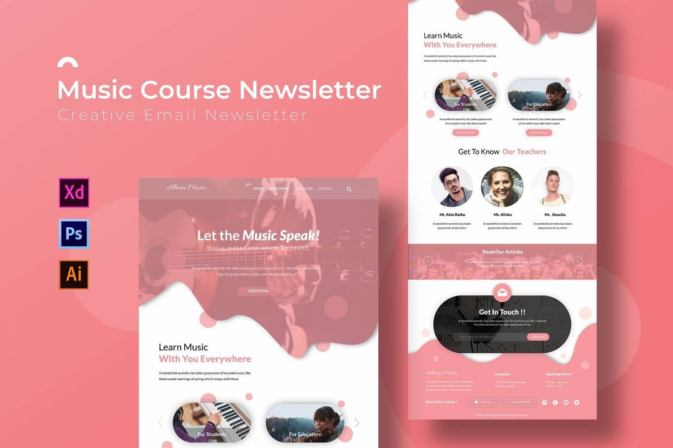 Music Course Newsletter Template (1)