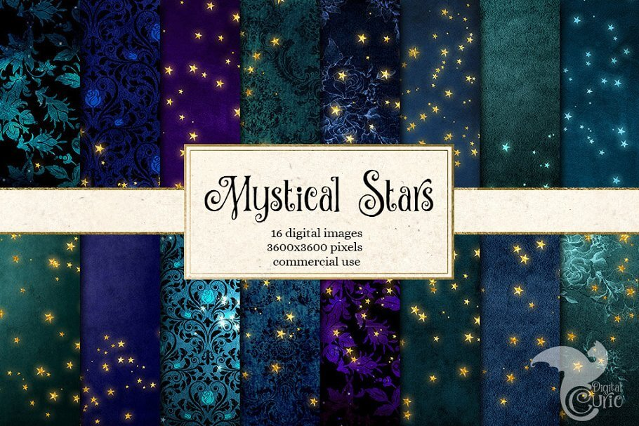 Mystical Star Backgrounds