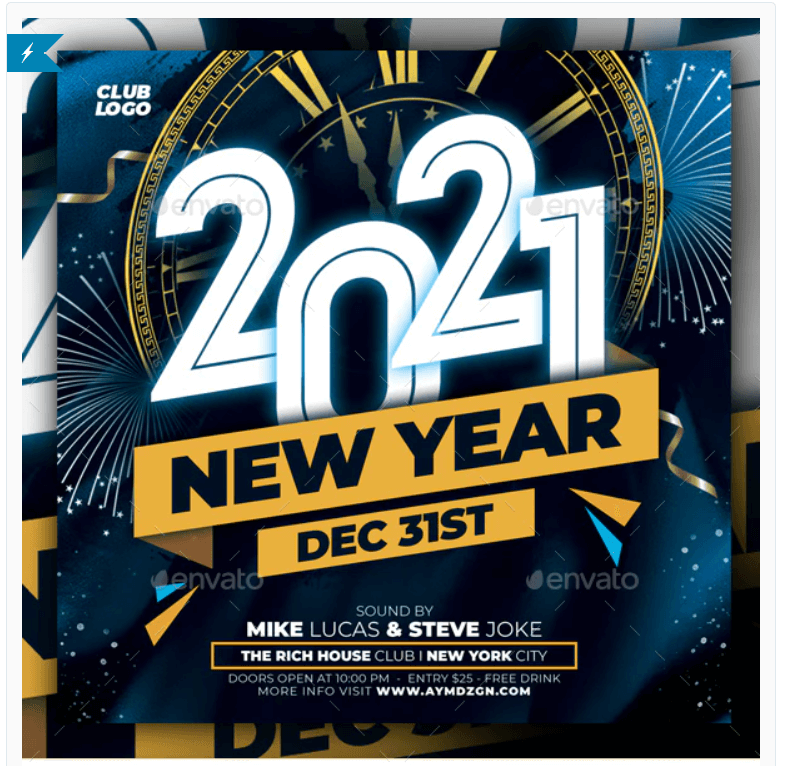 New Year Flyer2
