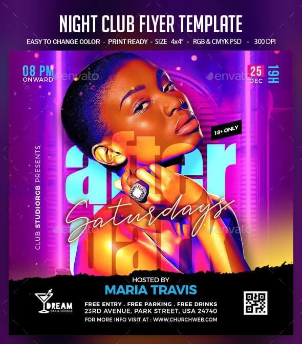 Night Club Flyer Template1