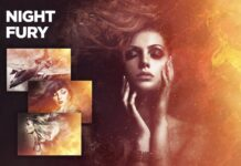 Night Fury Photoshop Action CS3+