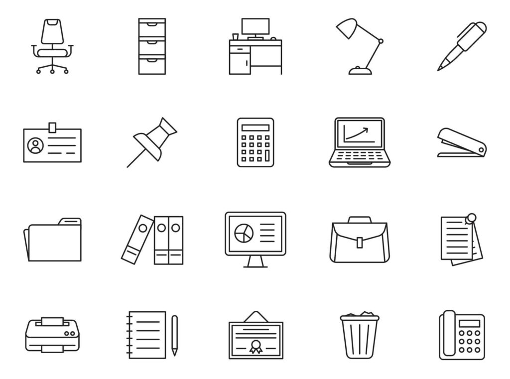 Office-Vector-Icons