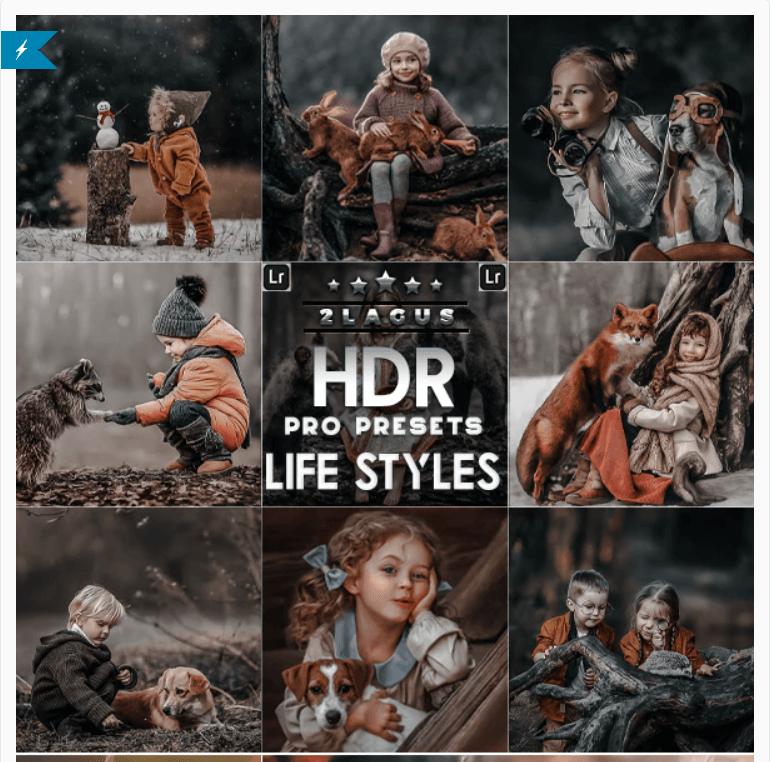 PRO HDR Lightroom Presets ( Mobile & Desktop