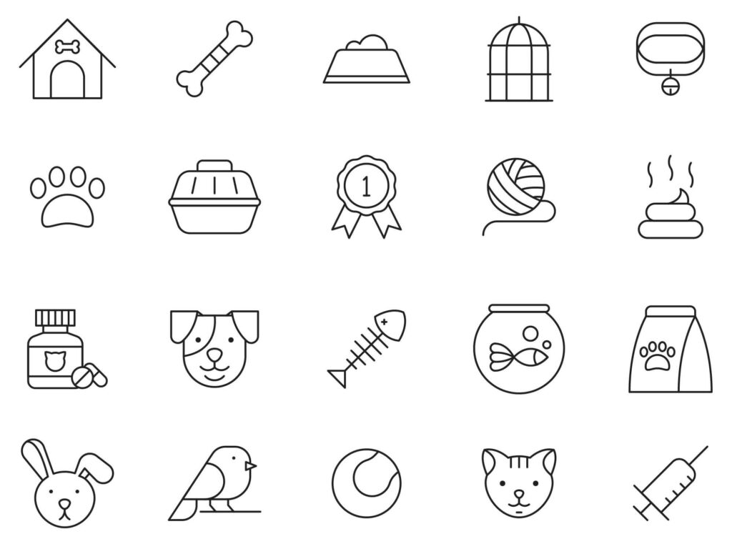 Pets-Vector-Icons