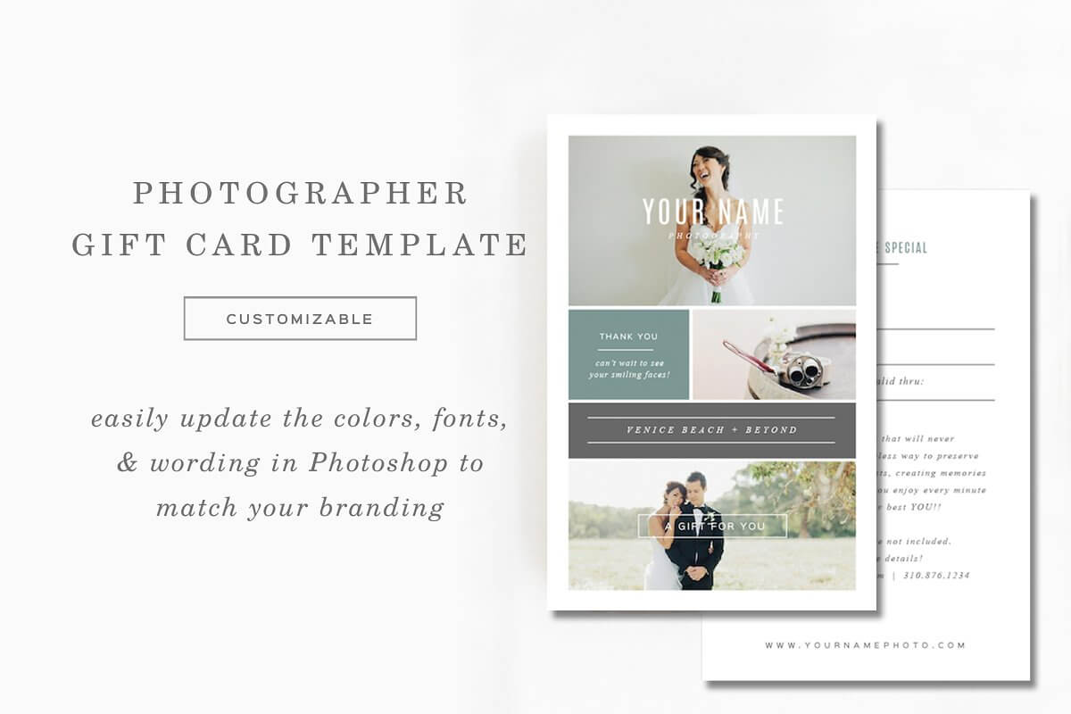 Photography Gift Card Template (1)