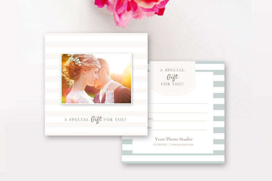 Photography Gift Card Template (2)