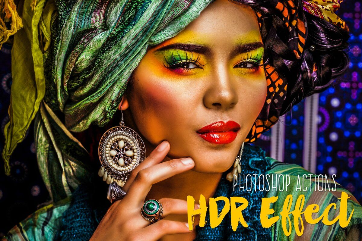 Premium HDR Photoshop Actions