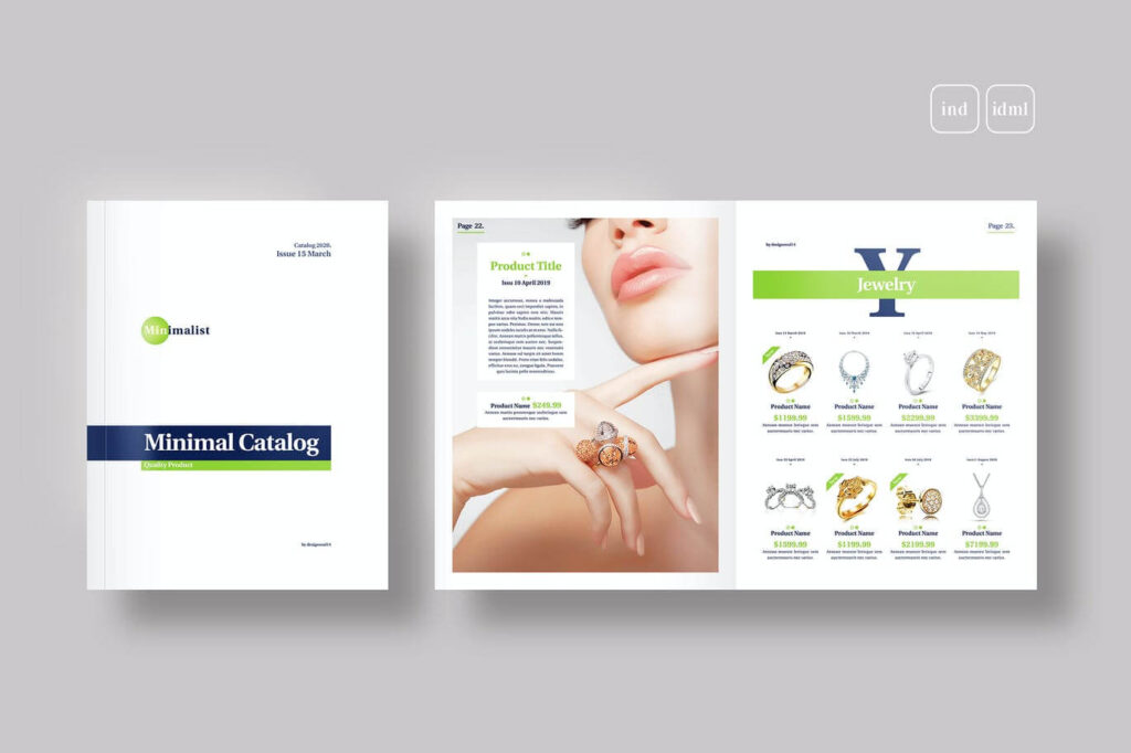 Product Catalogue Template1