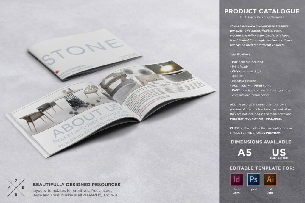 Product Catalogue Template2
