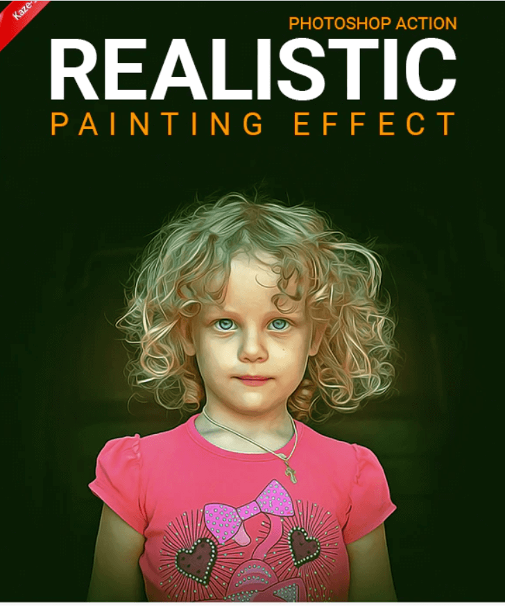 Realistic Painting Effect