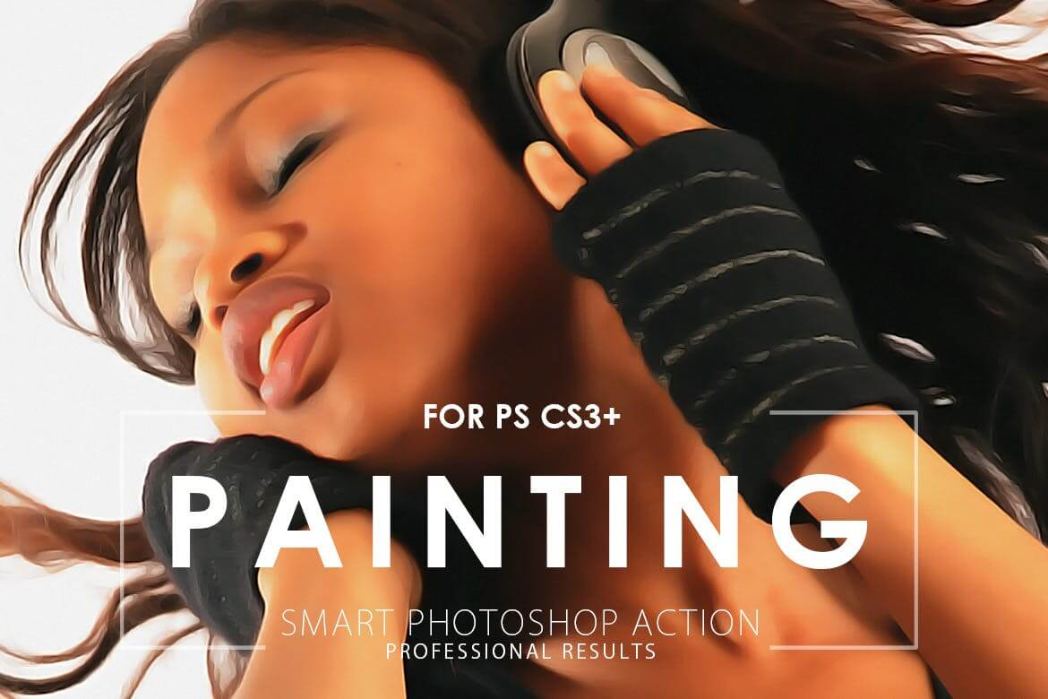 Realistic Painting Photoshop Action V.2