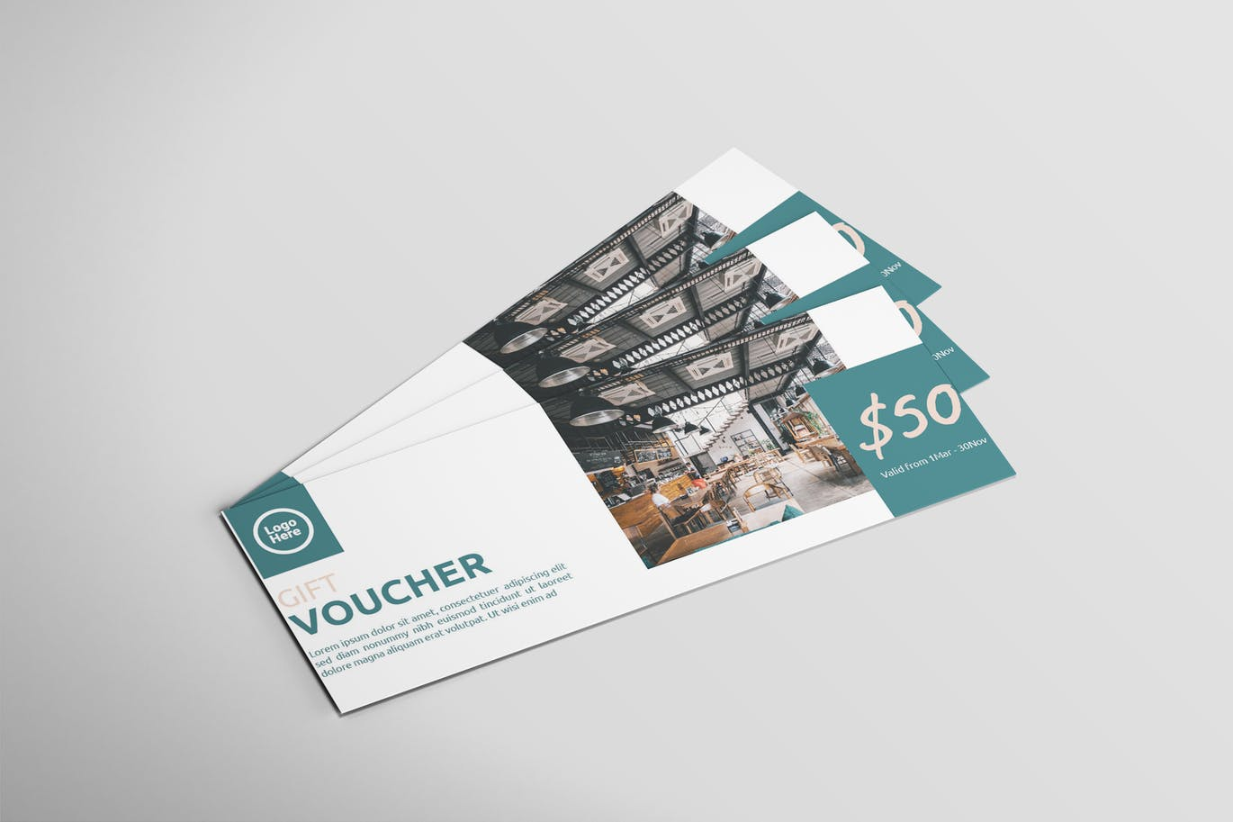 Restaurant Voucher - Voucher Design