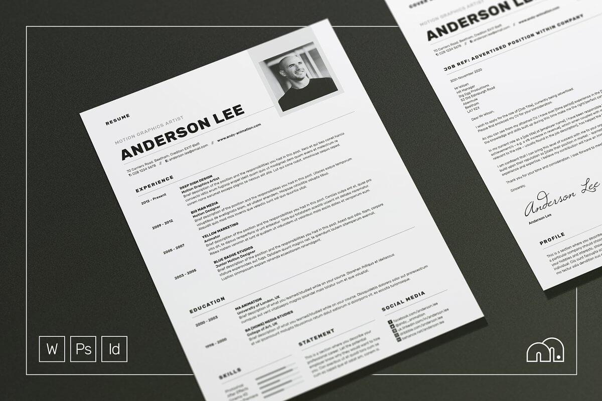 Resume CV - Anderson