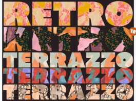 Retro Terrazzo Pattern Set