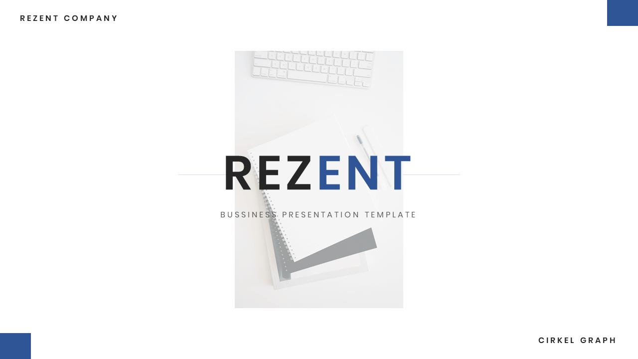 Rezent - Company Profile PowerPoint Presentation Template