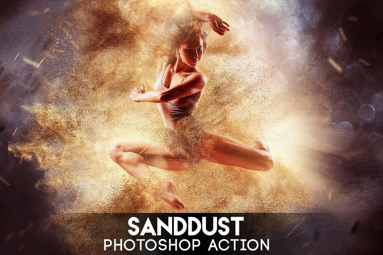 SandDust Photoshop Action