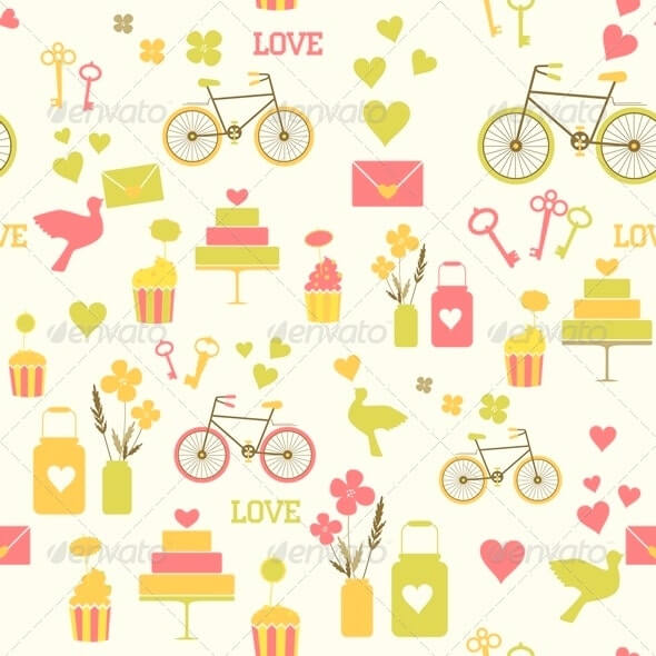 Seamless Wedding Pattern1