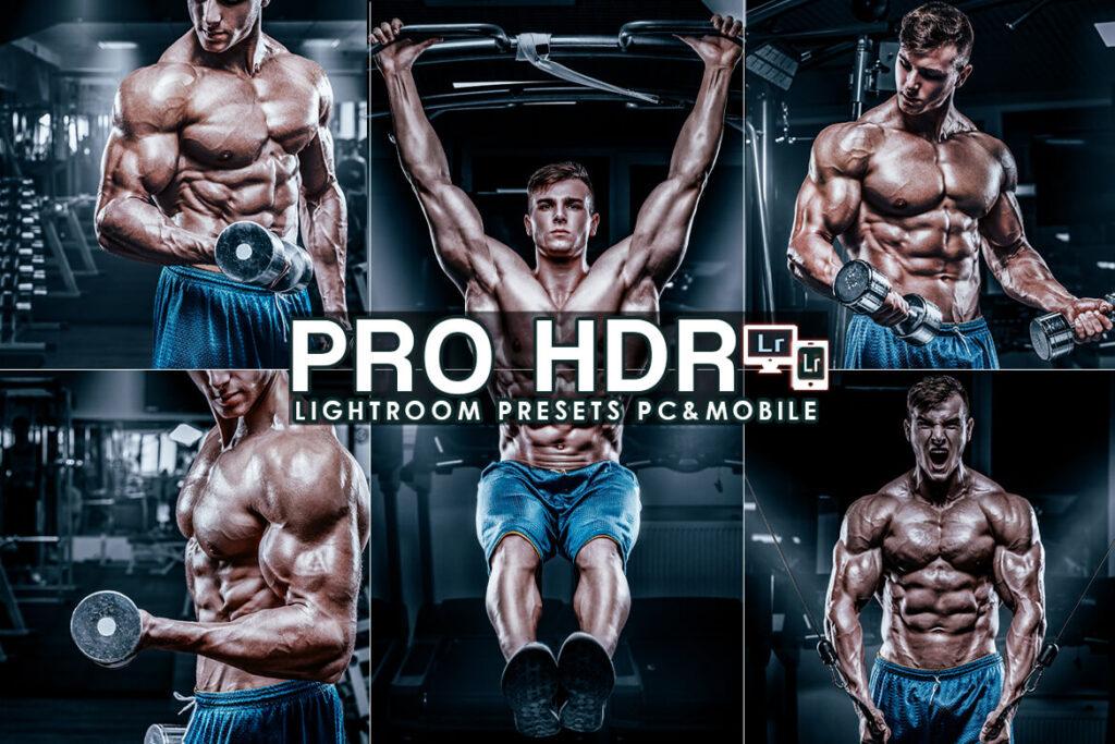 Sharpen PRO HDR Lightroom Presets (Mobile & Desktop)