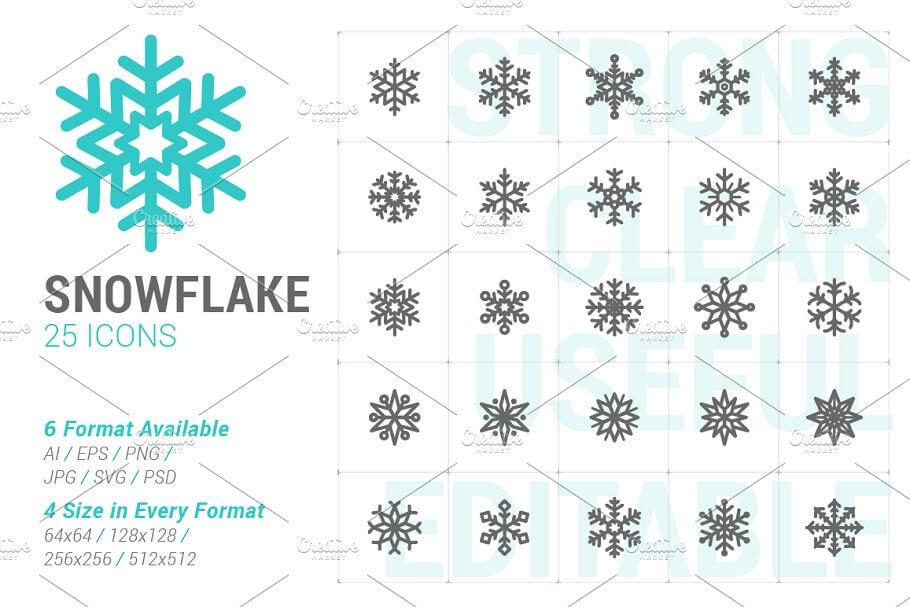 Snowflake Mini Icon